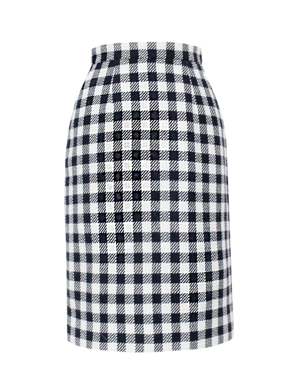shepherd check set-up skirt
