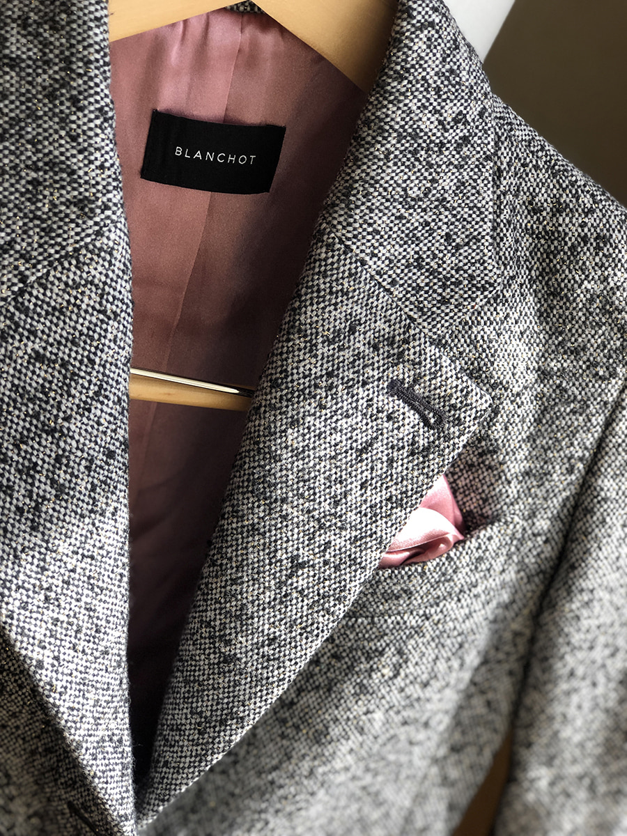 wool royal set-up jacket