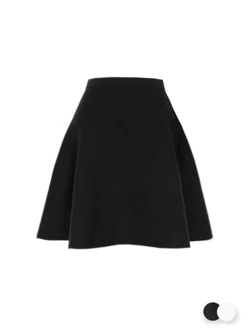 Essential knit skirt - short