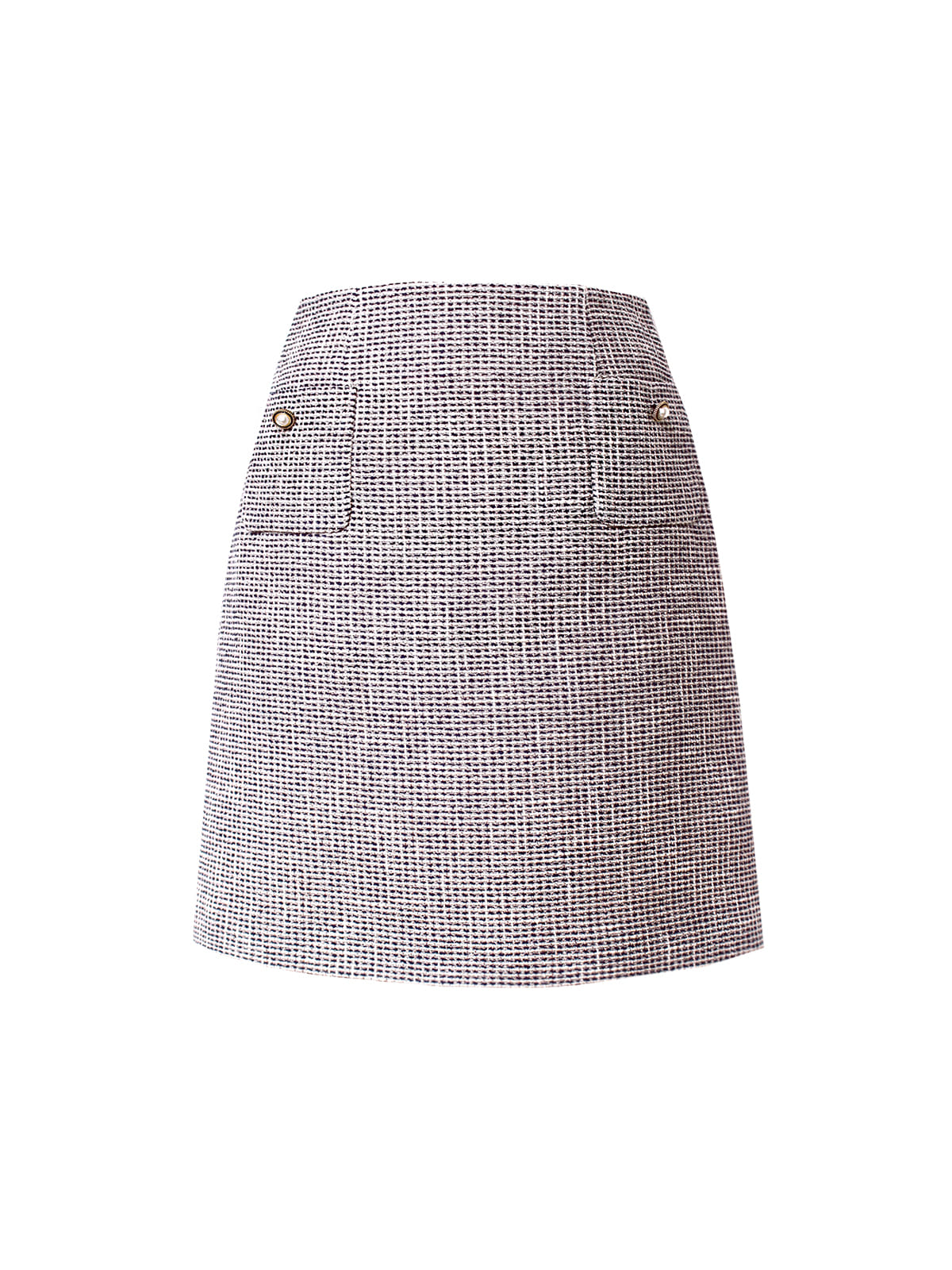 lizy tweed set up_ skirt