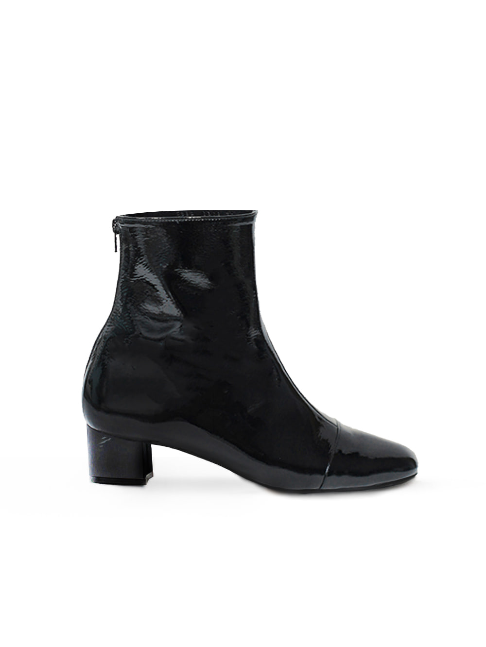 Patent ankle - black