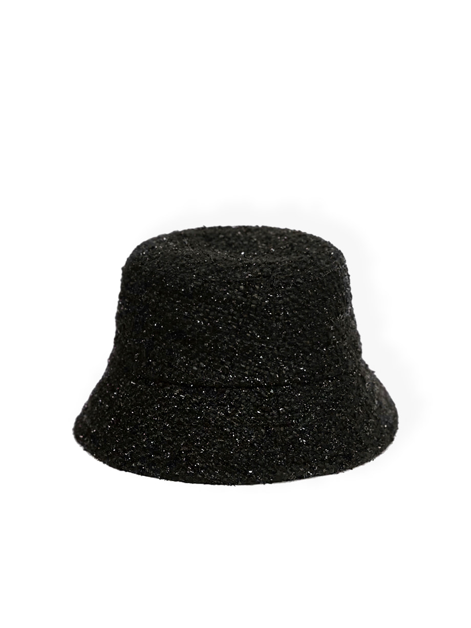 black dahlia tweed hat